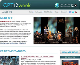 CPT12 E-Newsletter Example