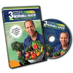 3 Steps to Incredible Health with Joel Fuhrman: DVD