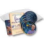 3 Steps to Pain-Free Living - 6-DVD set + Book + E-book + Pillow