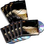 70's Soul Superstars 3-DVD set + 6-CD set