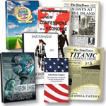 American Empire DVD + 2 DVD's + 3 Books + Constitution booklet