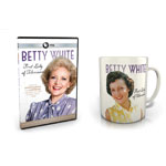 Betty White: First Lady of Television - DVD + Mug