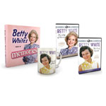 Betty White: First Lady of Television - 2 DVD's + Book + Mug