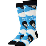 "Bob Ross ""Happy Clouds"" Socks - Women's"