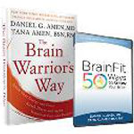 BrainFit: 50 Ways to Grow Your Brain DVD + The Brain Warrior's Way book