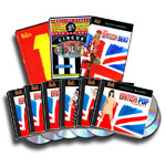 The British Beat: 3-DVD Collection + British Pop 7-CD set