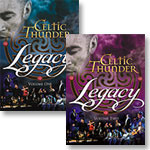 Celtic Thunder Legacy Volume 1 DVD + Volume 2 DVD