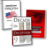 DVD of program + Decade of Deception DVD + Conspiracy Theory in America book