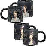 Downton Abbey: Lady Violet heat-changing mug