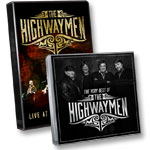 The Highwaymen Live: DVD of program + Best of the Highwaymen CD