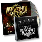 The Highwaymen Live 3-CD/DVD Set + The Very Best of the Highwaymen CD
