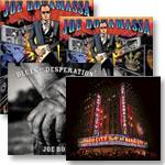 Bonamassa: Greek Theatre 2-CD & 2-DVD, Blues CD, Radio City CD-DVD