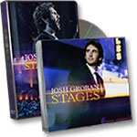 Josh Groban Stages Live DVD + Stages CD