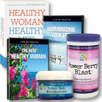 New Healthy Woman: 4 DVD's + Book + Moisturizer