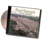 Paul Simon's Concert in the Park - 2-CD set of Program