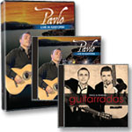 Pavlo: Live in Kastoria DVD + CD + Guitarradas CD