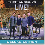 The Piano Guys Live: Deluxe Edition CD-DVD set