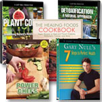 Plant Codes: 3 DVD's + Cookbook + Power Chefs 5-DVD set