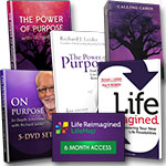 Power of Purpose: DVD + 2 books + 5-DVD set + Cards + Website access