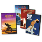 Queen: Bohemian Rhapsody DVD + Live DVD Collection