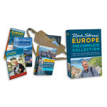 Rick Steves: Complete Collection DVD set + ETBD book + Map + Money Belt + Skills DVD