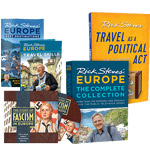 Rick Steves' Fascism in Europe: DVD + Book + 20-Year Anthology DVD set