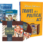 Steves: Fascism in Europe DVD + Travel as a Political Act book