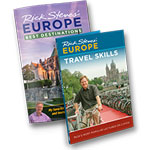 Europe Through the Back Door book + Season 9 DVD set