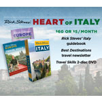 Rick Steves' Italy Guidebook + Travel Skills DVD