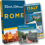 Rome Guidebook + Travel Skills DVD + Italy Map
