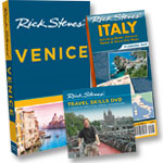 Venice Guidebook + Travel Skills DVD + Italy Map