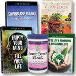 Saving the Planet: 2 DVD's + Cookbook + 8-CD Set + Berry Blast