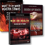 DVD + War on Health DVD + What to Do When Disaster Strikes 3-CD set