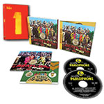 The Beatles: Sgt. Pepper's Anniversary Edition 2-CD set + Beatles 1 DVD