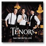 The Tenors: Fan Favorites - CD of program