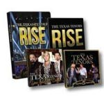 The Texas Tenors: Rise DVD & CD + You Should Dream CD + 5 Years CD