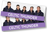 Celtic Thunder: 1 ticket to see Celtic Thunder at the Paramount Theatre on November 24th, 2018 + DVD of program