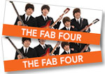 Fab Four: 2 tickets to see the Fab Four (with opening act Morgan James) at the Levitt Pavilion on Saturday May 26,2018 + CD of program