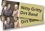 2 tickets to Nitty Gritty Dirt Band with Leo Kottke at the Paramount Theatre on October 19, 2018