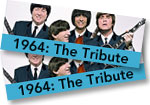 1964 The Tribute: 2 general admission tickets to Red Rocks concert on August 23, 2019 + The Beatles: Eight Days a Week DVD