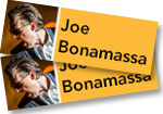 Joe Bonamassa: 2 Tickets to Red Rocks concert on August 12, 2019