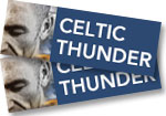 1 ticket to see Celtic Thunder live at The Paramount Theatre on October 30, 2016