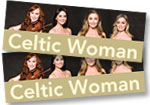 Celtic Woman: 2 tickets (level P2) to Red Rocks concert on May 26, 2019 + Ancient Land DVD