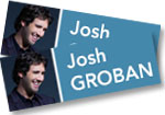 Josh Groban: 2 general admission tickets to see Josh Groban with the Colorado Symphony at Red Rocks on August 28, 2019 + Bridges in Concert DVD