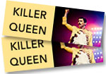 Killer Queen: 2 general admission tickets to see Killer Queen at Red Rocks on Wednesday, July 25, 2018 + 6 DVD set*