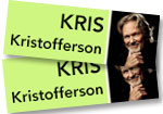 Kris Kristofferson: 2 tickets (Price level 1) to concert on Sunday, November 24 at the Paramount Theatre