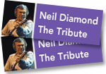Neil Diamond: 2 tickets to tribute concert at Red Rocks on July 23, 2019 + 2-CD/DVD set of program with photo book