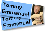 Tommy Emmanuel: 2 passes to meet & greet Tommy Emmanuel before his free concert at Levitt Pavilion in Denver on June 7, 2018 + Live at the Ryman CD