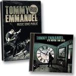 Tommy Emmanuel: DVD of Program + It's Never Too Late CD