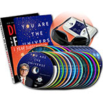 You Are the Universe with Dr Chopra: DreamWeaver Glasses, 25 DVD's, 2 Books, Website